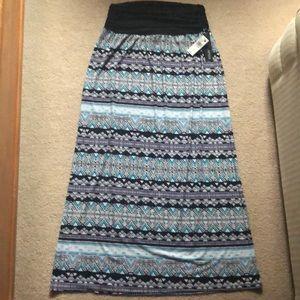 Apt 9 Maxi Skirt, Size XL, NWT.